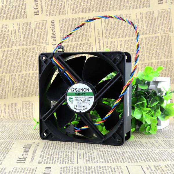 SUNON MFC0381V1-Q000-M99 için 12038 12 V 7.4 W 12 cm DELL şasi fan