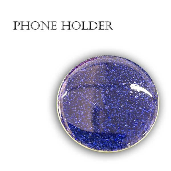 HOT Phone holder grip Cell Mobile Air bag Epoxy printing Can Custom-made with retail package Blue packing Real 3M Glue