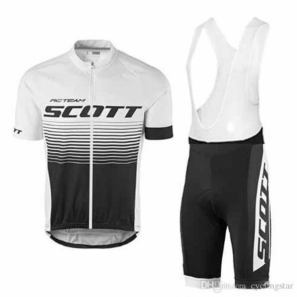 2017 SCOTT Bisiklet team bike maillot ropa ciclismo cycling jersey Bicycle MTB bicicleta clothing set Summer outdoor sports wear D1002