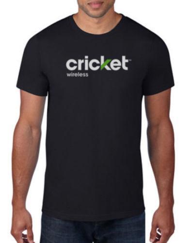 CRICKET Kablosuz Cep Telefonu Şirket T-shirt Mens 2018 moda Marka T Gömlek O-Boyun% 100% pamuk T-Shirt Üstleri Tee özel Çevre baskılı
