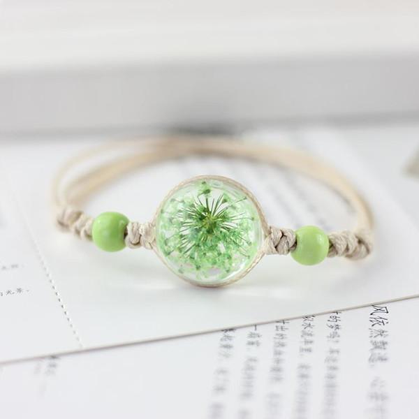 dry flower ball bracelet han edition fresh girlfriends all over the sky star ball bracelet female student contracted MS3144