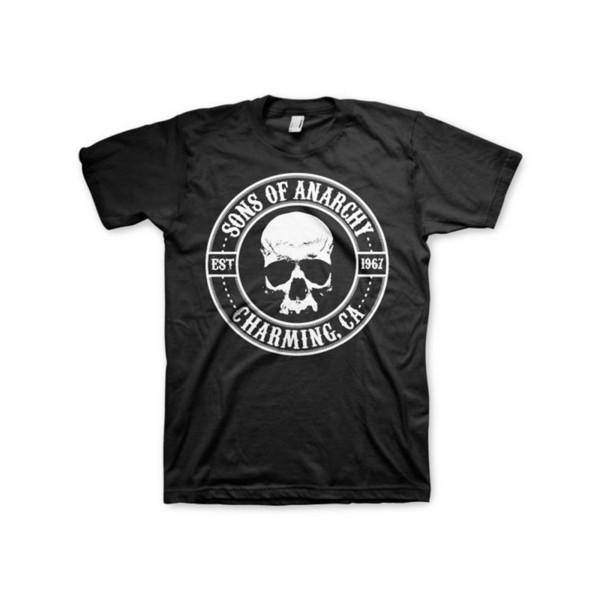 Resmi Lisanslı Anarşi Mühürlü Erkek T-Shirt S-XXL Boyutları