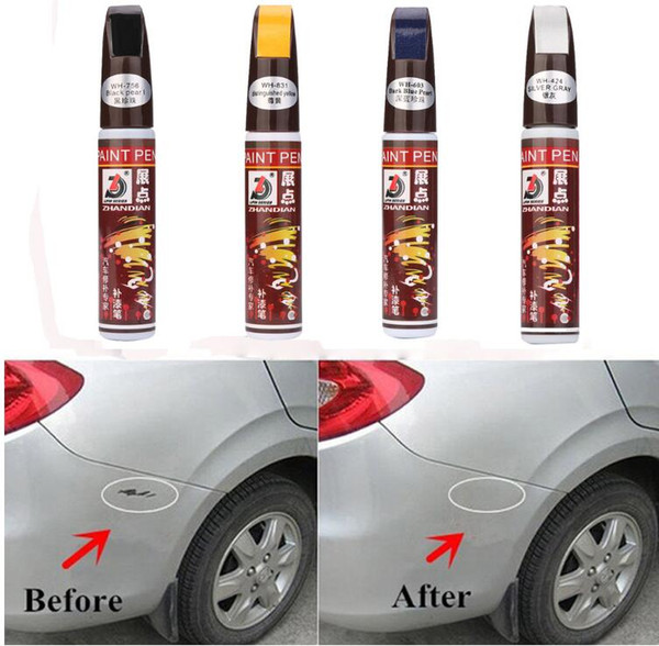 top popular Colors Auto Car Coat Paint Pen Touch Up Scratch Clear Repair Remover Remove Tool Free Shipping 2021