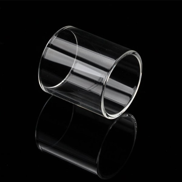 DHL Fast Shipping Long / Short Replacement Pyrex Glass Tube Fit for Augvape Merlin RTA Tank Atomizer 4ml / 2ml Capacity