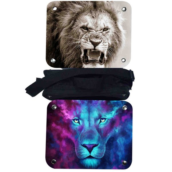 Lion Lunch Box Insulated Lunch Bag Animal Horse Tiger Dog Toddler Teenager Boys Girls Kid School Cooler Thermal Tote Pouch