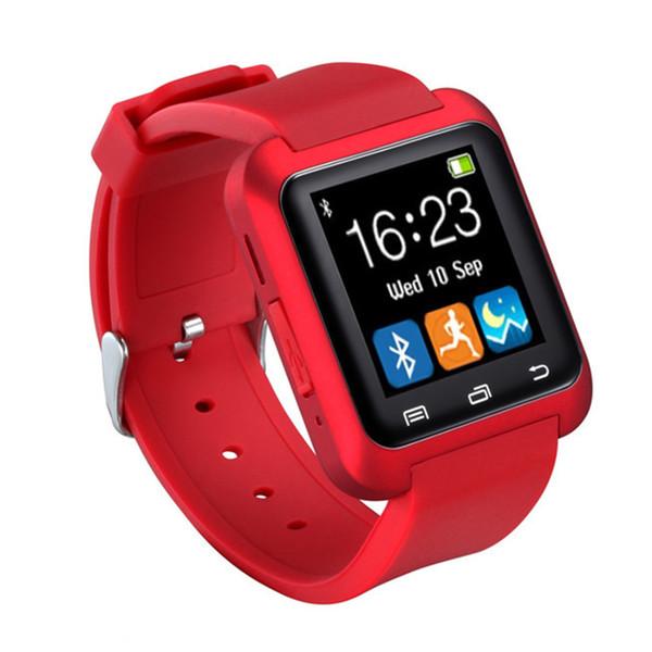 2017 Smart Watch U8 Woman/Man Sport Bluetooth Smartwatch Fitness Tracker for Android IOS Phone PK Apple Watch GT08 DZ09 U80