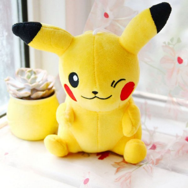 20CM pikachu Plush Toy Dropshipping Charmander Gengar toys sleeping pillow Doll For Kid baby birthday gifts Anime Soft Plush