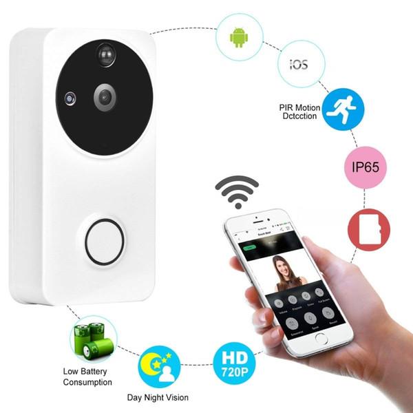 Großhandel Smart Video Türklingel Wireless Wifi Türklingel Kamera ...