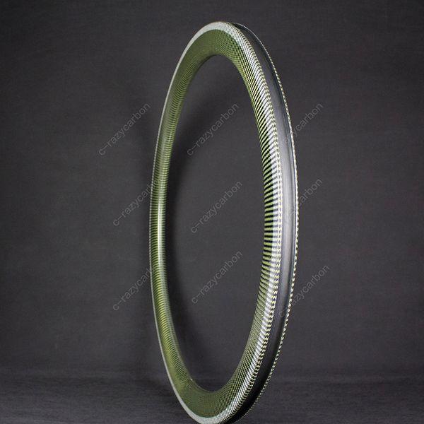 Hot OEM Free Coated Carbon Kevlar Bicycle Rims 700C 35MM Depth Road U Shape Width Tubular/Clincher For Sale