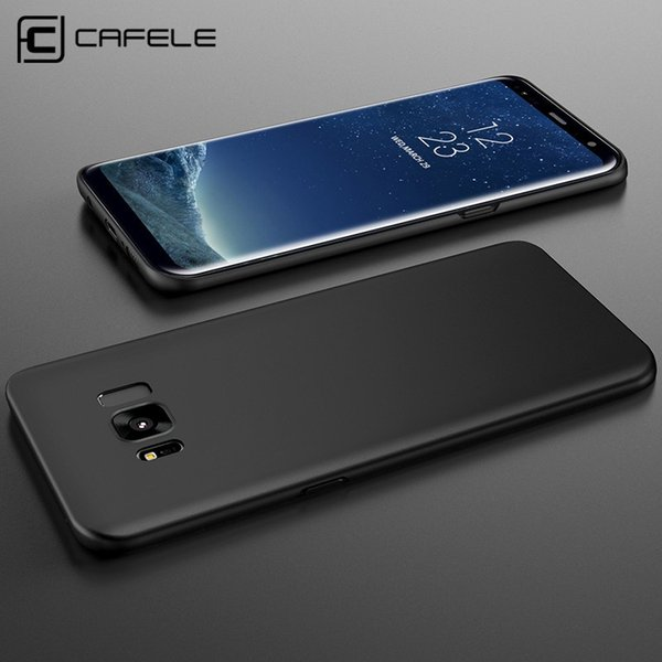 Cafele Fashion Plastic Case For Samsung Galaxy S8 S8 Plus Luxury Hard Pc Case For Galaxy Black Red Blue Rose Gold Fashion Cell Phone Cases Canada
