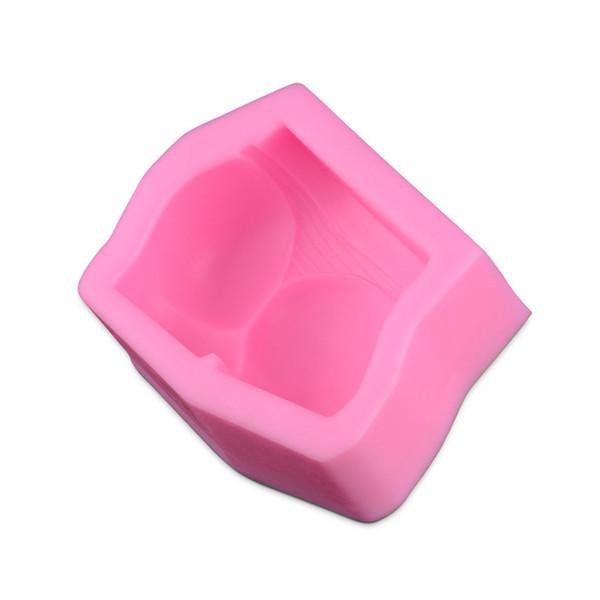 1 PZ Imitare Sexy Glutei Forma Sapone Stampo per dolci Gelatina al cioccolato Fare Stampo Cake Decorating Baking Tool DA