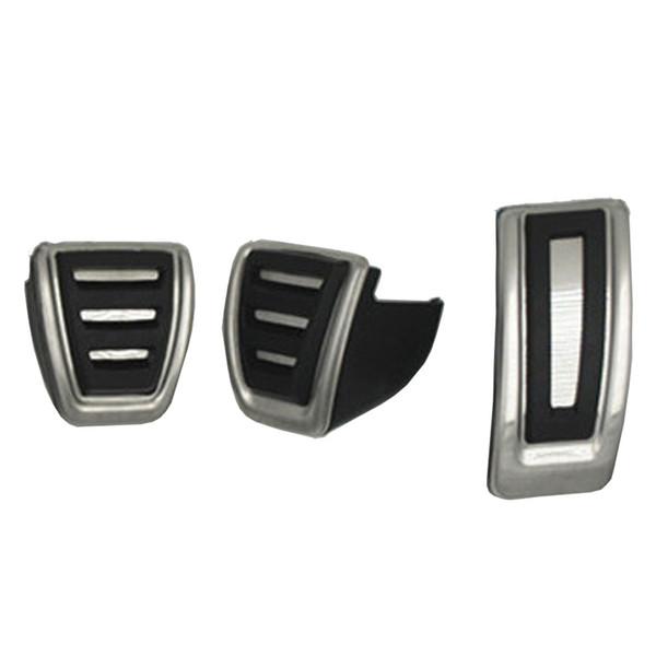 Car styling Sport Copertura del pedale del freno del carburante per VW golf 7 per Seat Leon 5F MK3 Octavia A7 Accessori auto