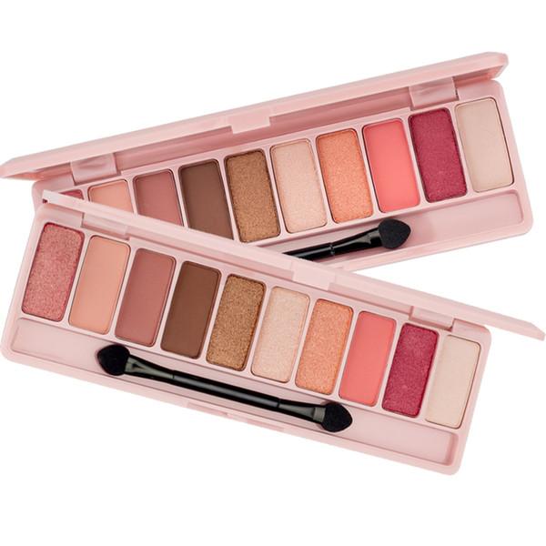 Nuevo Maquillaje Pigmentos Color cálido / frío Paleta de sombras de ojos Brillo Mate Pigmentos Sombra de ojos Kits Cosméticos