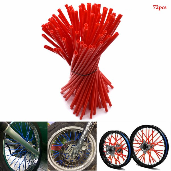 For Motocross Dirt Bike Enduro Off Road Rim Wheel spoke skins For ktm EXC DRZ DR RMZ RM RMZ 85 125 250 400 450 Kawasaki