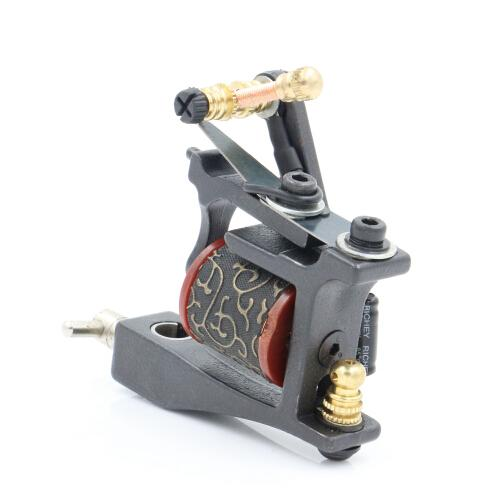 Hot Sale Iron Tattoo Guns T-Dial Tattoo Machine 10 Wrap Coils chines Liner For Tattoo Supplies Free Shipping