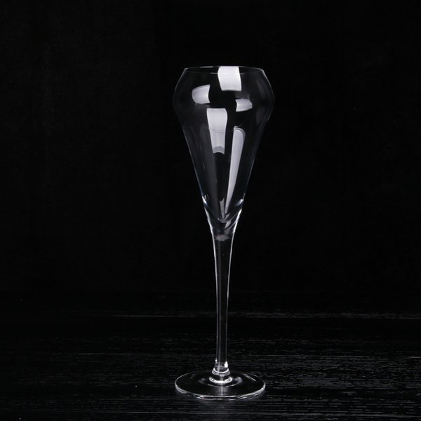 Mission Runway Pure Manual Blowing Goblet No bubbles Champagne Glass Lead-free Crystal Transparent Diamond Wine Glass 6pcs/set