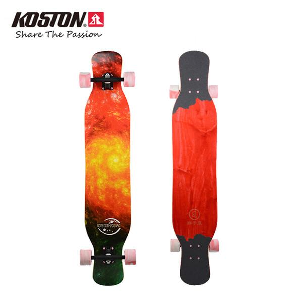 Wholesale-Koston Professional Long Board Completes Constellation Series Walking Dancing Skateboard 46 Inch Mixed Materials Longboard