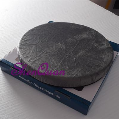 Collections etc 360 degree swivel gel foam seat cushion for extra comfort and support,rotating pad