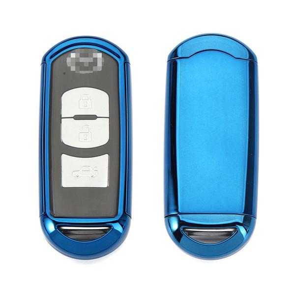 TPU Soft Plastic Car Key Case Key Shell Auto Remote Control Key Shell Mazda Car Special Car Accessories