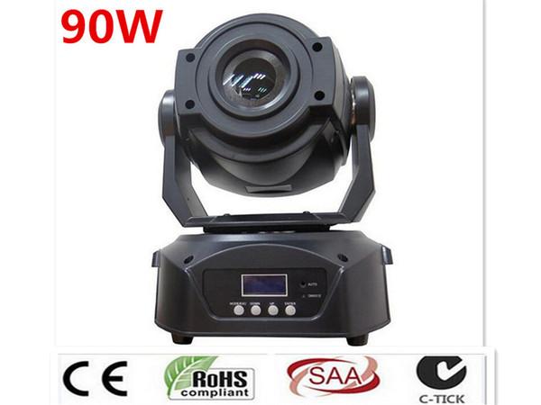 best selling 2pcs 90W LED Spot Moving Head Light  CREE USA Luminums 90W LED DJ Spot Light dmx