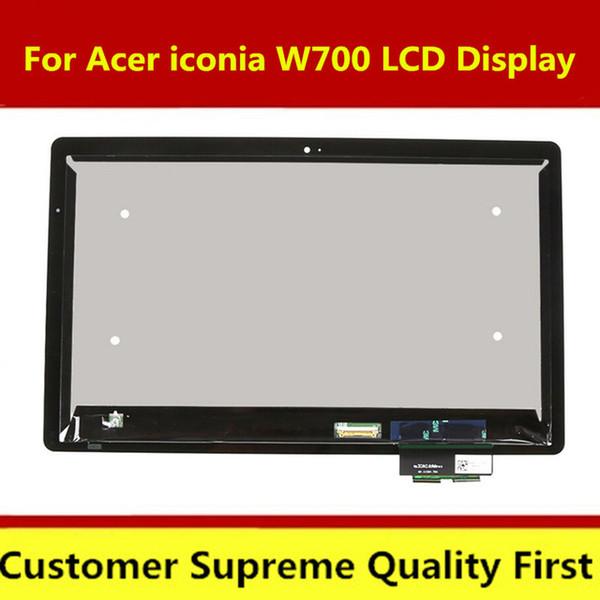 Para Acer Iconia Tab W700 Novo Painel Touch Screen Digitador de Vidro + Display LCD Monitor Assembléia Frete Grátis