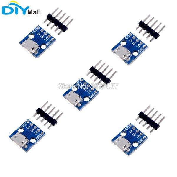 5 teile / los CJMCU Breakout Switch Modul Micro USB 5 V Netzteil für Arduino