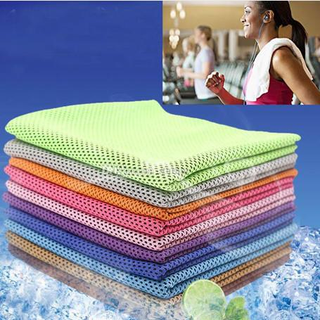 free ship Magic Cold Towel Exercise Fitness Sweat Summer Ice Towel Outdoor Sports Ice Cool Towel Hypothermia Cooling Opp Bag Pack BAT070908