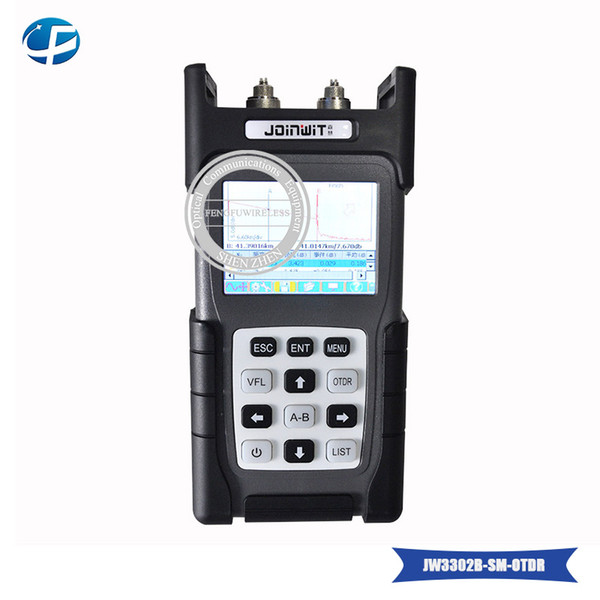 OTDR fiber tester JW3302B SM 1310/1550nm 30/28dB Optical Time Domain Reflectometer Fiber Optic OTDR Tester