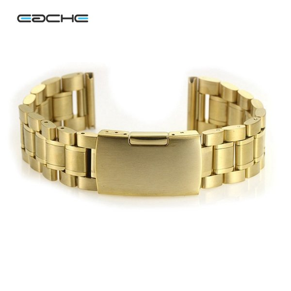 EACHE Solid Stainless Steel Watch Bracelet Hot Sale Watch band Smooth Head straps 18mm 20mm 22mm 24mm