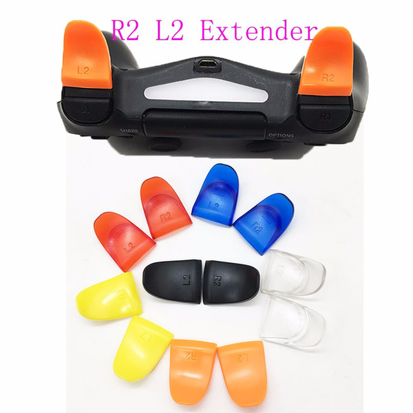 best selling L2 R2 Trigger Extenders Extender Buttons For PS4 Controller Dual Extended Triggers Button DHL FEDEX EMS FREE SHIPPING