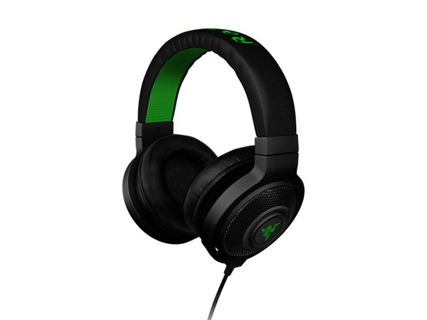 Best Quality 3.5 mm Razer Kraken Pro Gaming Headset with Wire control headphones in BOX USB Headset head-mounted FPS computer games DHL Free