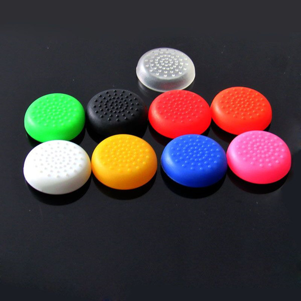 best selling Free shipping TPU Mushroom Thumb stick Joystick Grip Cover Case Cap for Xbox One Controller 5 Colors available