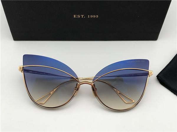 Men/Woman Designer Oversized Square Sunglasses Gunmetal Frame gafas de sol Designer Sunglasses vintage glasses New with Box numd180721-11