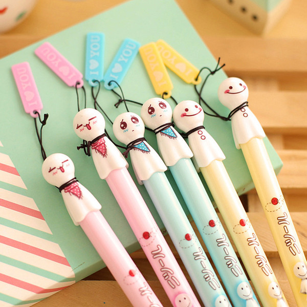 1 pcs new Sunny doll gel pen for writing Japanese kawaii pens cute stationery papelaria Office supply school canetas