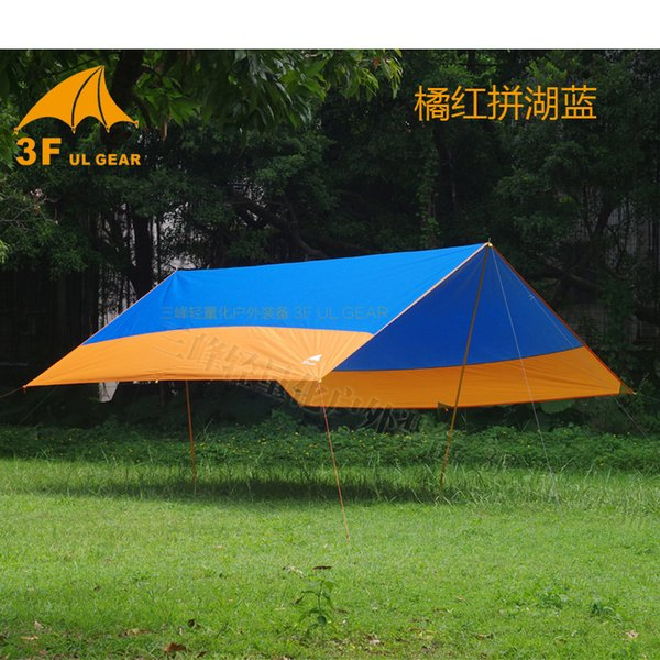 3F UL Gear UV 150D 6*5m 5-8 person sun shelter beach coast pergola awning shade canopy party picnic tarp outdoor camping tent