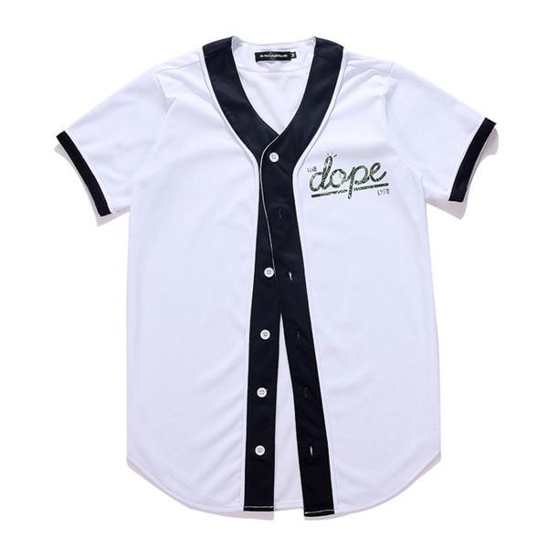 Yeni Erkekler t gömlek v yaka komik Karikatür Gömlek baskılı 3d t-shirt kısa kollu üstleri Tee Beyzbol Forması giyim 2017 Moda Marka