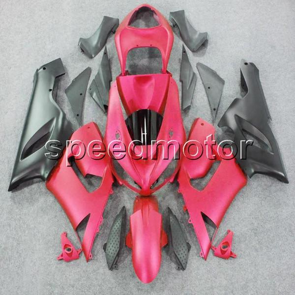 23colors + Gifts pink motocicleta Carenado para Kawasaki ZX6R 2005 2006 ZX 6R 05 06 ZX-6R ABS kit de plástico