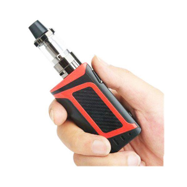 Electronic Cigarette 80W box mod Starter Kit 2000mAh Battery 510 Metal Body 3.5ml Atomizer Vapor Shisha Pen Hookah Vape kit
