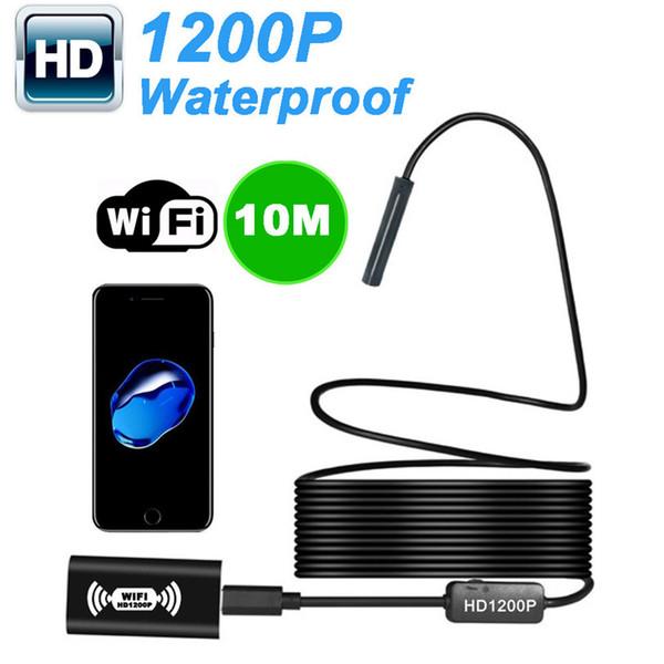Wireless Endoskop Inspektionskamera Für iOS Android 2.0 Megapixel 1200 P HD Aug29 Professionelle Fabrik Preis Drop Shipping