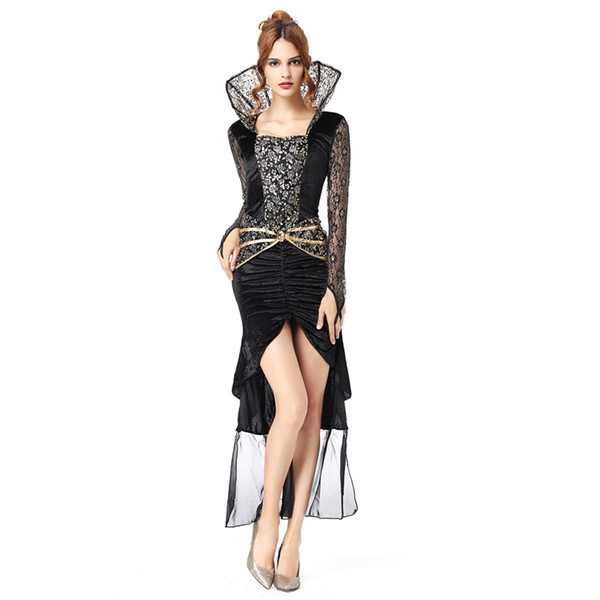 Witch costume adult sexy halloween costumes for women Scary Costumes dress vampire costume women princess cosplay