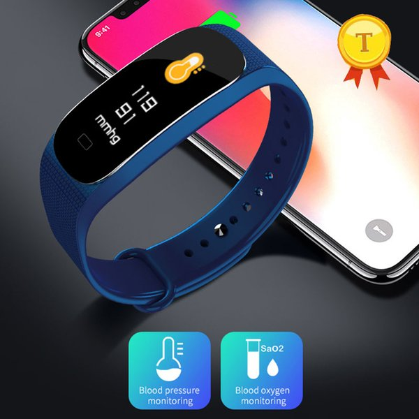 Calorie Smart Bracelet Heart Rate Smart Wristband blood pressure pedometer Incoming phone Reminder Fitness Tracker band