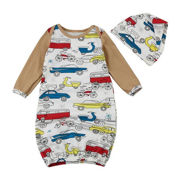 Organic cotton baby diapers, infant swaddle baby summer thin envelope wrapper swaddling swaddle sleeping bag sleepsack + hat P6