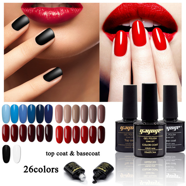 YAYOGE gel nail poilsh 108 colors new UV gel varnish 10ml/0.3oz No irritating smell Darker color saturation long lasting