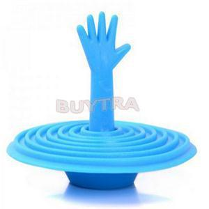 1 PCS New Novetly Bathroom Product Creative Hand Shape Sink Plug Water Plug
