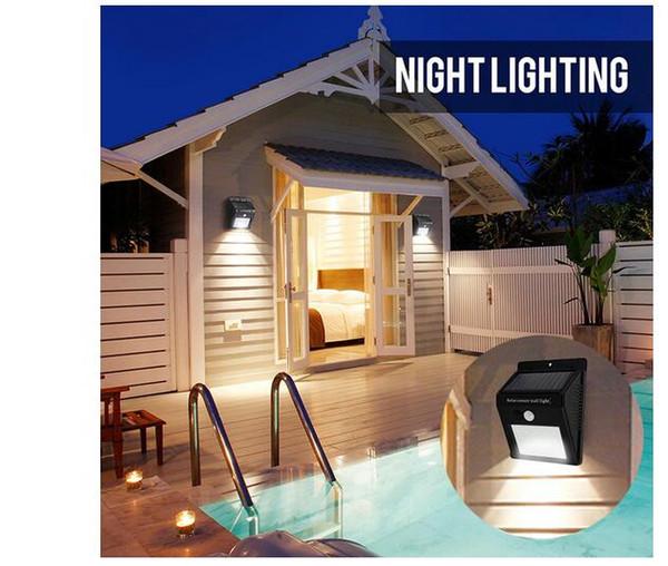 Electronic Solar Sensor Wall Lights PRESS MODE Waterproof 20LED Outdoor Garden Lamp Wireless Flood Light Led lantern DIY Landscape Lawn Lamp