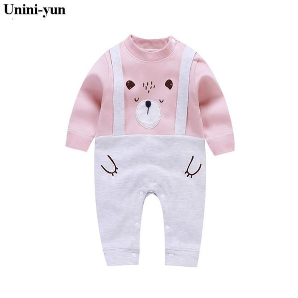 Baby Mädchen Kleidung Tier Baby Strampler Kostüm Neugeborenen Kleidung Pyjamas Winter Baumwolle Jungen Warme Overall Herbst