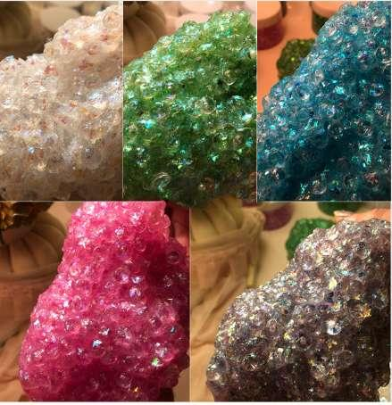 4 Styles Galaxy Crystal Slime Ball Mud Creative Modeling Intelligent Magic Shiny Playdough Kids Clay Putty For Toys Antistres