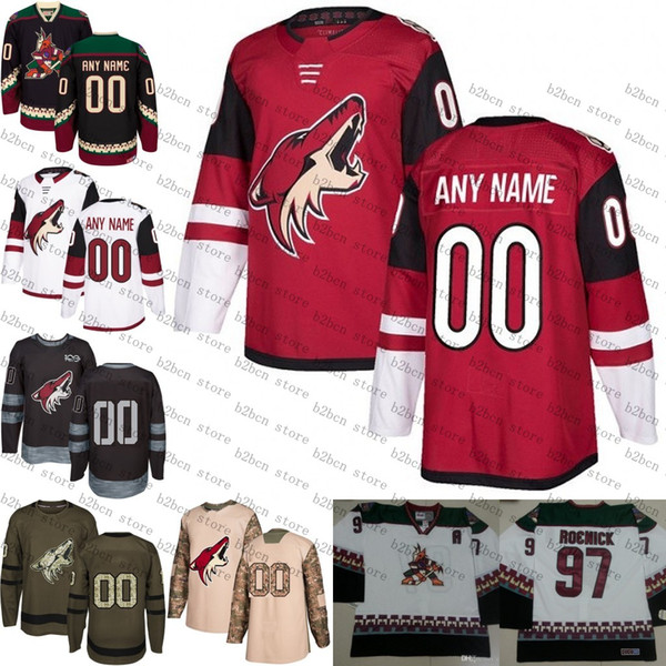 timeless design c482e 296fa Best 2018 Customized Men'S Arizona Coyotes Custom Any Name Any Number Ice  Hockey Jersey,Authentic Jersey Embroidery Logos Size S 3XL Under $36.55 |  ...