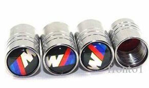 Chrome Metal Car Wheel Tire Valve Caps for bmw bmw x5 e92 e87 e46 Car Emblems Accessories Car Styling
