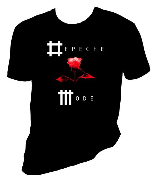 2018 Cotton T Shirts Clothing Short Graphic Depeche Mode Electronic Rock Sizes S-4X O-Neck Tees For Men